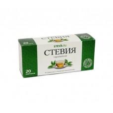 """Листья стевии в фильтр-пакетах """"SteviaRu"""" (20г/20штук)"""