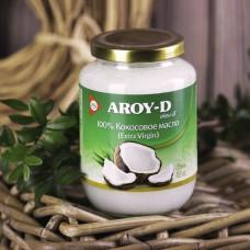 Нерафинированное кокосовое масло Aroy-D (450мл)
