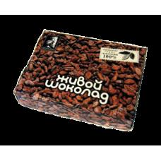 """Урбеч из перетертых какао-бобов в плитке """"Живой Продукт"""" (180г)"""