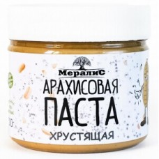 """Паста """"Мералис"""" арахисовая хрустящая (300г)"""