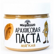 """Паста """"Мералис"""" арахисовая мягкая (300г)"""