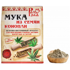 "Мука из семян конопли ""Радоград"" (200г)"