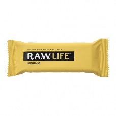 """Орехово-фруктовый батончик Кешью """"RAW Life"""" (47г)"""