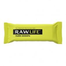 """Орехово-фруктовый батончик Лайм-имбирь """"RAW Life"""" (47г)"""