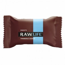 Конфета шоколадная RAW LIFE Трюфель с солью (18г)