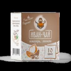 Иван-чай в пакетиках имбирь/лимон (30г)