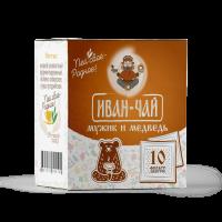 """Иван-чай в пакетиках """"Мужик и медведь"""" (30г)"""