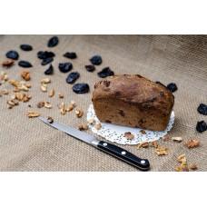 Бездрожжевой хлебушек солодовый с черносливом и грецким орехом (330г)