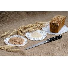 Бездрожжевой хлебушек цельнозерновой пшеничный (350г)