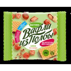 """Вафли из полбы ореховые без сахара """"ВастЭко"""" (45г)"""