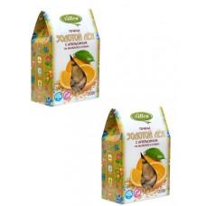 Печенье Vitlen Золотой Лён с апельсином на мальтите и стевии (200г)