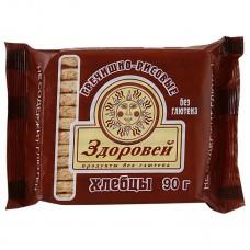 """Хлебцы гречишно-рисовые """"Здоровей"""" (90г)"""