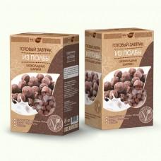 """Готовый завтрак из полбы шоколадные шарики """"ВастЭко"""" (200г)"""