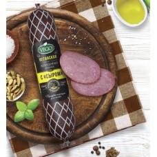 Колбаса полукопченая с сыром ПОСТНАЯ VEGO (400г)