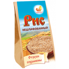 "Рис нешлифованный бурый ""Дивинка"" (500г)"