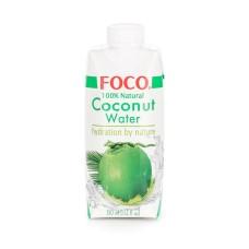 """Кокосовая вода без сахара """"Foco"""" (330мл)"""