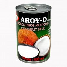 """Кокосовое молоко натуральное без сахара """"Aroy-D"""" в ж/б  (400мл)"""