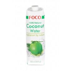 """Кокосовая вода без сахара """"Foco"""" (1л)"""