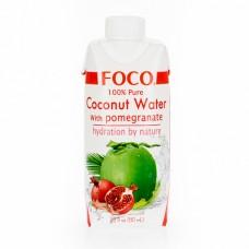 """Кокосовая вода с соком граната """"Foco"""" (330мл)"""