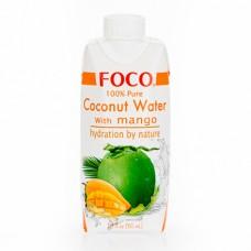 """Кокосовая вода с соком манго """"Foco"""" (330мл)"""