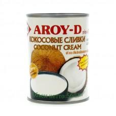 """Кокосовые сливки в ж/б """"Aroy-D"""" (560мл)"""
